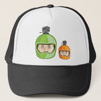 Helmet Camera Trucker Hat