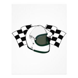 """Helmet & Flags 8.5"""" X 11"""" Flyer"""