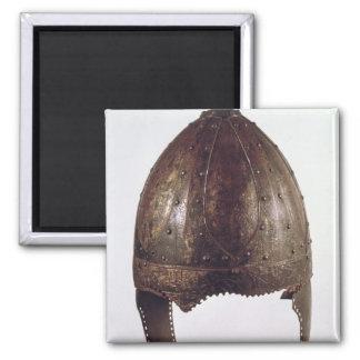 Helmet, from Vezeronce 2 Inch Square Magnet