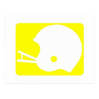 helmet logo postcard