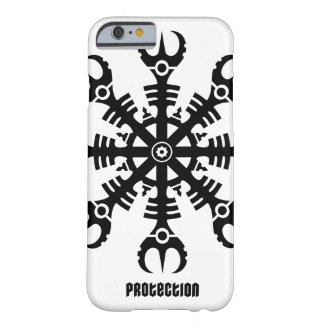Helmet of awe - Aegishjalmur No.2 (black) Barely There iPhone 6 Case
