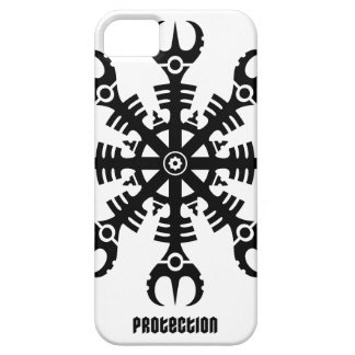 Helmet of awe - Aegishjalmur No.2 (black) iPhone SE/5/5s Case