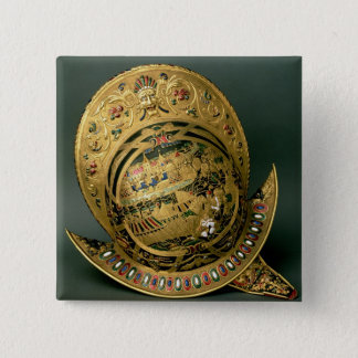 Helmet of Charles IX (1550-74) 16th century (gold Pinback Button