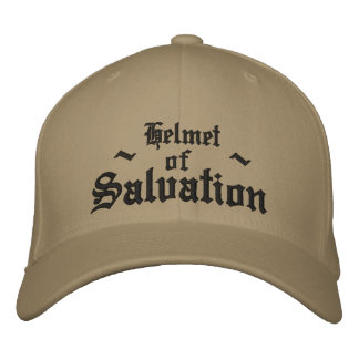 Helmet of Salvation Embroidered Baseball Hat