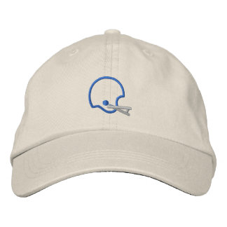 Helmet Outline Embroidered Baseball Hat