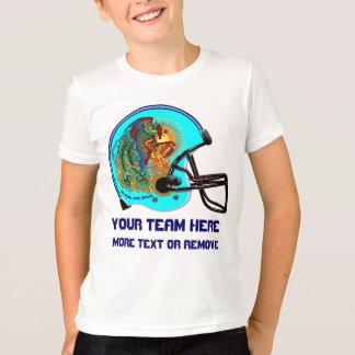 Helmet Phoenix Bird Football Kid  All Styles T-Shirt