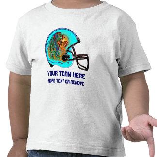Helmet Phoenix Bird Football Kid  All Styles Tshirts