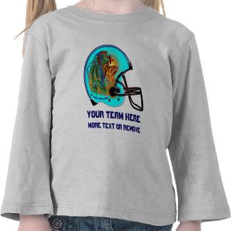 Helmet Phoenix Bird Football Kid  All Styles Tshirt