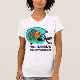Helmet Phoenix Bird Football  Women  All Styles Tee Shirts