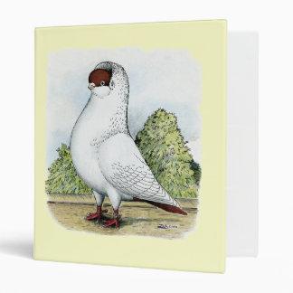 Helmet:  Red Pigeon Vinyl Binder