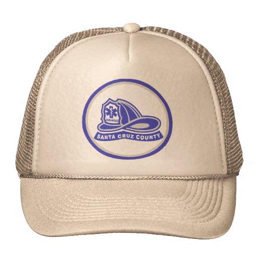 Helmet Santa Cruz County Paramedic Trucker Hat
