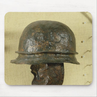 Helmet with cheek guards, from Alesia, Tene III Mouse Pad