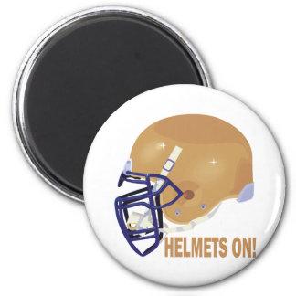 Helmets On Magnet