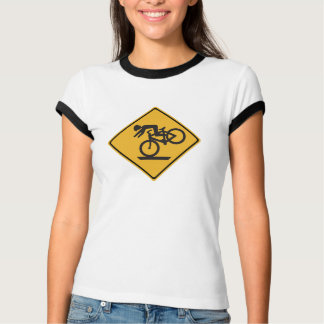 Helmets Recommended, Traffic Warning Signs, USA T-Shirt