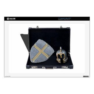 "HelmShieldBriefcase031415.png Decal For 17"" Laptop"