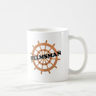 Helmsman de las trituradoras taza de café
