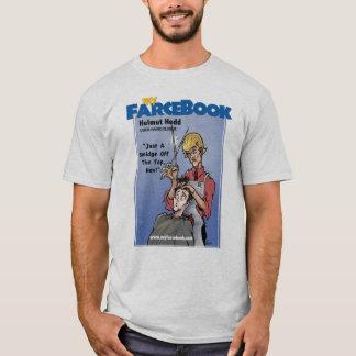 Helmut Hedd- myFarcebook.com Uber Hairdresser T-Shirt