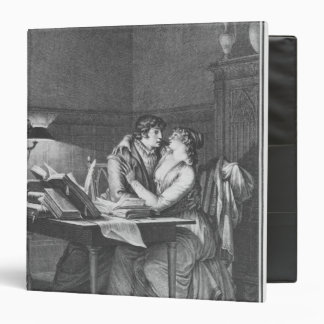 Heloise and Abelard in their study Binder