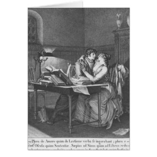 Heloise and Abelard in their study Card