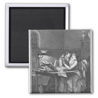 Heloise and Abelard in their study Magnet