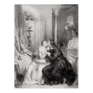 Heloise and Abelard Postcard
