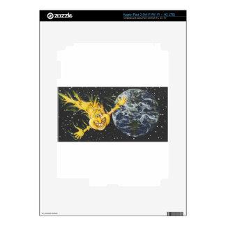 Helooo, Earth iPad 3 Skin