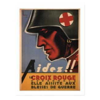 Help!! (1936)_Propaganda Poster Postcard