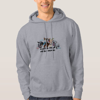 HELP ASHLEY'S DOGS TO COME HOME! HOODED SWEATSHIRT