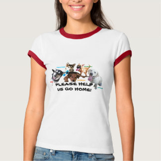 HELP ASHLEY'S DOGS TO COME HOME! SHIRT