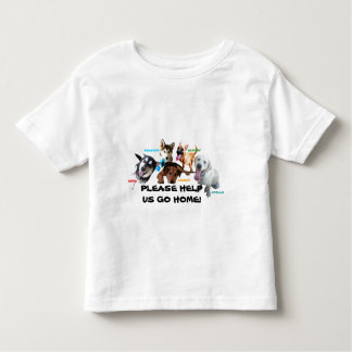 HELP ASHLEY'S DOGS TO COME HOME! TEE SHIRT