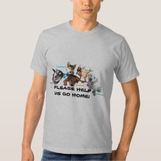 HELP ASHLEY'S DOGS TO COME HOME! TEES