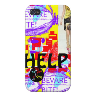 Help bevare bite! cover for iPhone 4