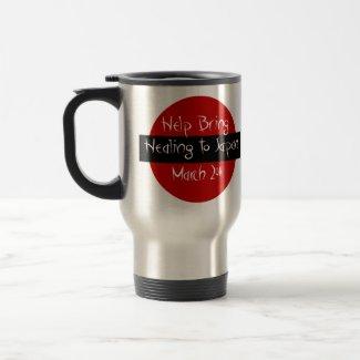 HELP BRING HEALING FOR JAPAN March 2011 mug