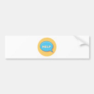 Help Bumper Sticker