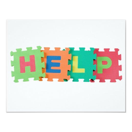Help Card