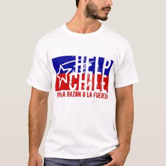 HELP CHILE Earthquake Aid T-Shirt