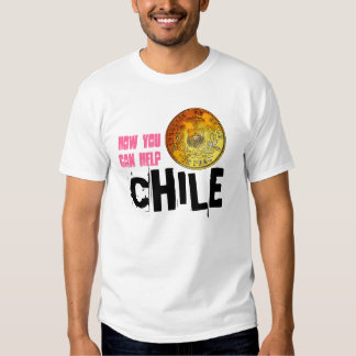 Help Chile Earthquake Relief T-Shirt