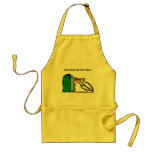 """Help Clean Up Our Planet"" Adult Apron"