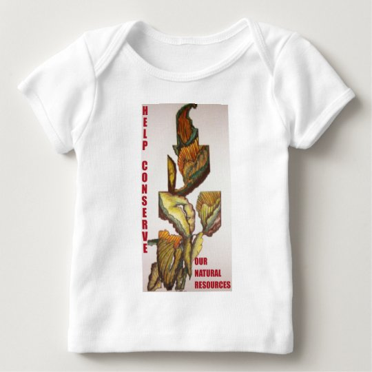 HELP CONSERVE BABY T-Shirt