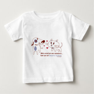 Help Control Pet Over-Population Baby T-Shirt