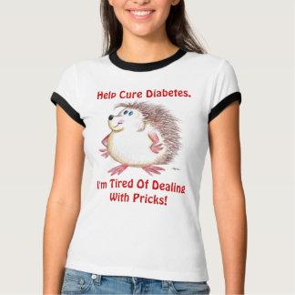 Help Cure Diabetes Shirts