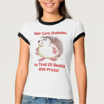 Help Cure Diabetes T-Shirt