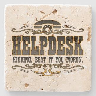Help Desk Stone Coaster