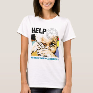 Help Donation Haiti T-Shirt