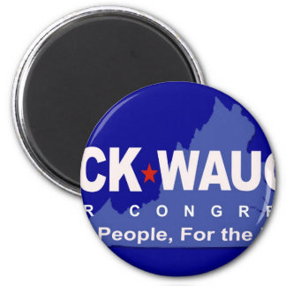 Help Dump Eric Cantor - Rick Waugh for Congress! 2 Inch Round Magnet