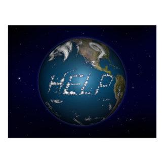 Help Earth Postcard