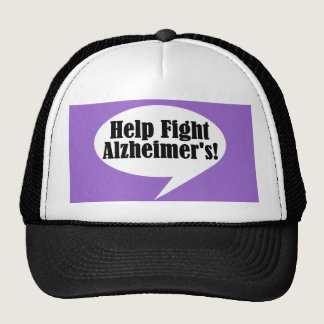 Help Fight Alzheimer's Hat
