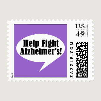 Help Fight Alzheimer's Stamps