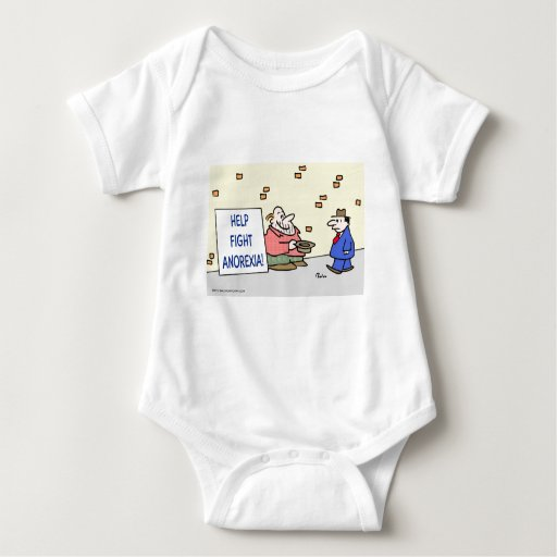 Help fight anorexia. baby bodysuit