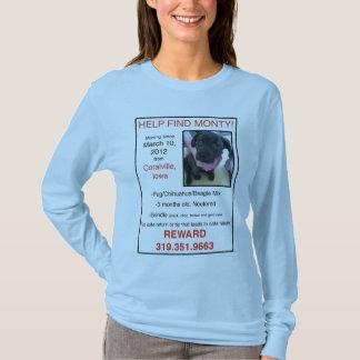 Help Find Monty T-Shirt